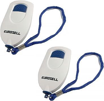 5 Stück Sirenen Panikalarm Handtasche Sicherheit Personen Alarm Knopf Safety !