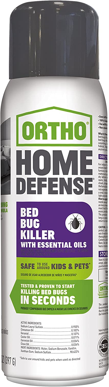 Ortho Home Defense Bed Bug Killer with Essential Oils Aerosol 14 OZ