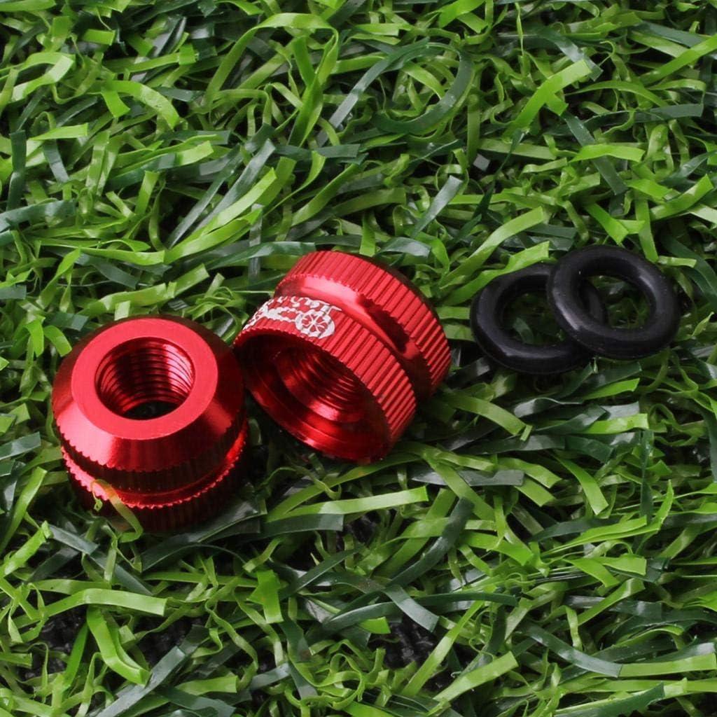 Ventilkappen Presta-Ventil Gelb Ersatz-Muttern Ventilkappen und Vakuum-Reifend/üse Reifen Akamas Fahrrad-Innenschlauch//Vakuum-Reifen Fahrrad Fahrrad,Maulmutter Muttern Innenschlauch
