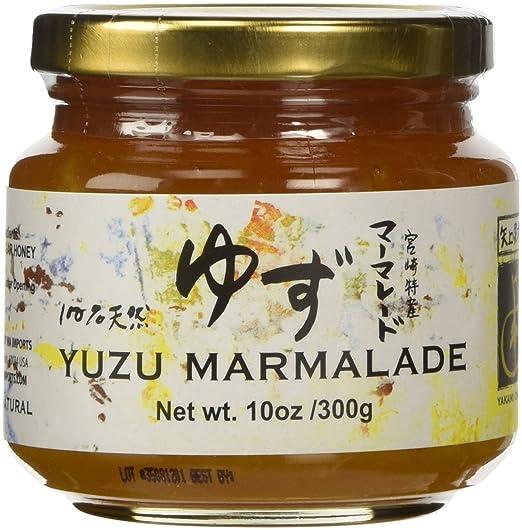 Yakami Orchard Mermelada de yuzu japonesa 300 gramos (2 tarros)