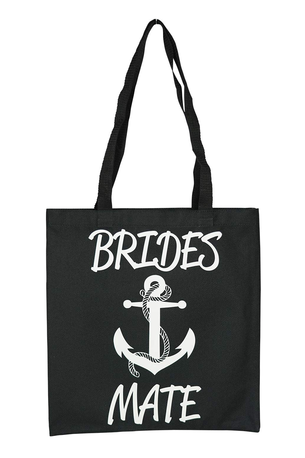 Nautical Anchor Brides Mate (Bridesmaid) Tote Bag for Wedding Shower, Bachelorette Party or Day of the Wedding