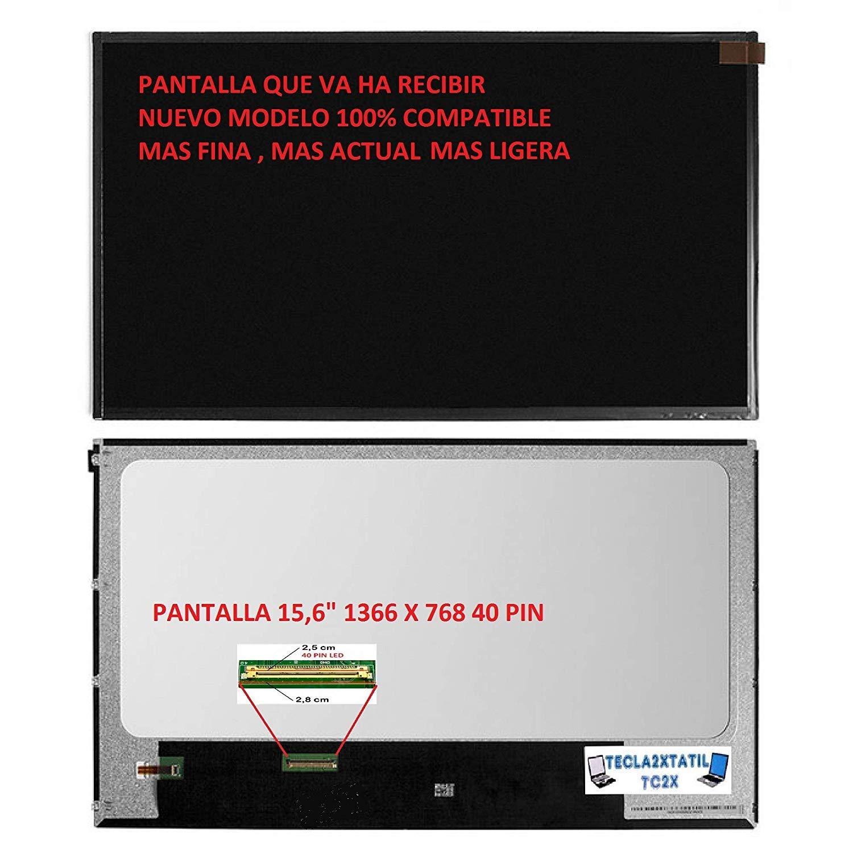Pantalla Compatible para PORTATIL Toshiba Satellite L500-22R 15,6