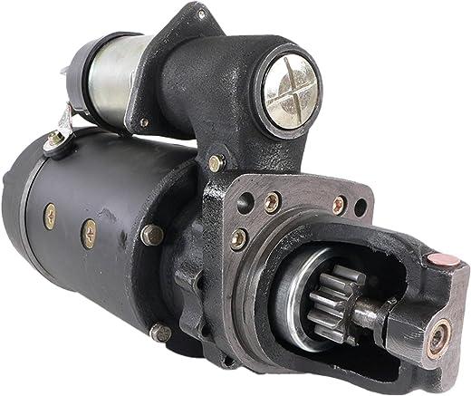 DB Electrical SDR0055 Starter For Case 1550 821 Caterpillar 3208 3304 3306 215 219 225 231 330 571 613 963 D6 D7 518 528 814 Cummins C Series Fiat-Allis 10C FD FR10 FR15 Kenworth C500 K100 L700