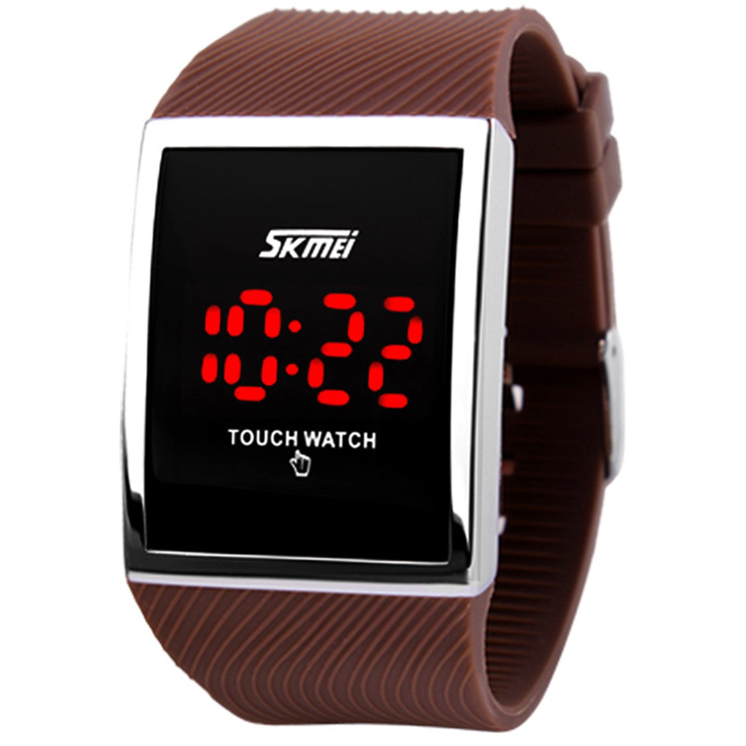 Touch Screen Outdoor Sports Black Watch with LED, Digital for Boys Girls, Above 10 Years Old Kids by FIZILI (Image #9)