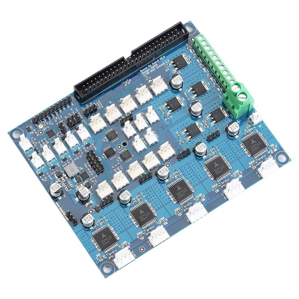 nouler Juler Extended Control Panel with Tmc2660 Stepper Drive for 3D Printer Boards by nouler