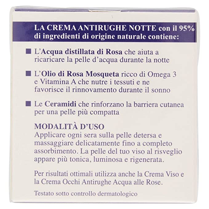 Amazon.com: Manetti Roberts of Florence Anti-Wrinkle Night Cream - 50 ml: Beauty