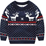 BESTERY Childrens Cotton Christmas Sweater Pullover