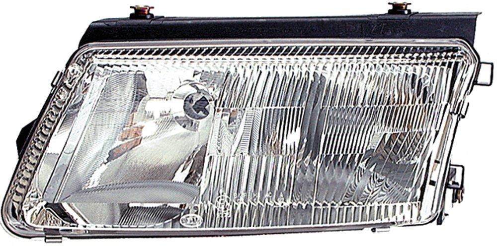 HELLA 1EF 007 520-051 Halogen Hauptscheinwerfer Ohne Kurvenlicht Links mit Gl/ühlampen