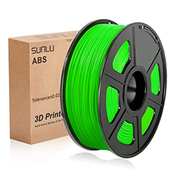 SUNLU 3D Printer Filament ABS, 1.75mm ABS 3D Printer Filament, 3D ...