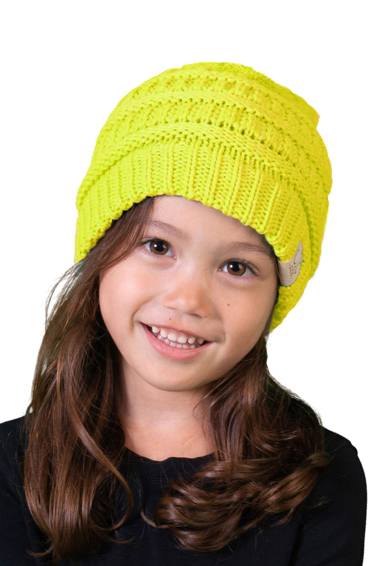 8a596ccfa7e Funky Junque Kids Baby Toddler Ribbed Knit Children s Winter Hat Beanie Cap.  By Funky Junque