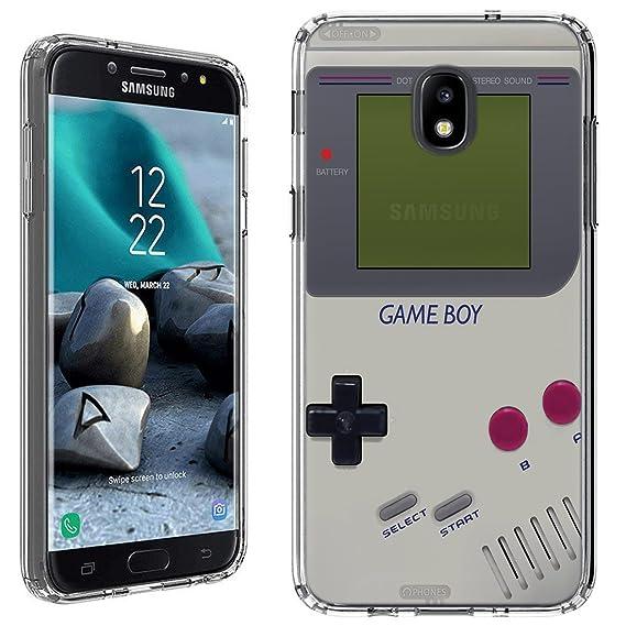 best website 71f52 8da38 Galaxy J3 2018 Case [Retro GameBoy](Clear) PaletteShield Flexible Slim TPU  skin phone cover (fit Samsung Galaxy J3 Star/Achieve/Express Prime 3)