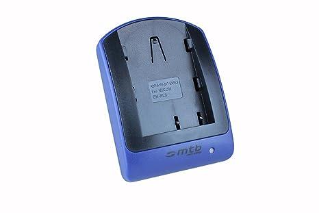 Cargador (Micro-USB, sin Cables/adaptadores) para EN-EL3 / Nikon D50, D70, D70s, D100
