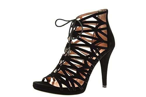 official photos dd182 911b5 ALBANO Scarpe Donna Sandali 1157 Nero: Amazon.it: Scarpe e borse