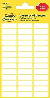Avery Zweckform 3320 Haushaltsetiketten Selbstklebend 31 X