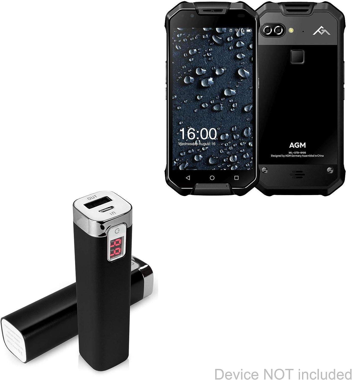 BoxWave AGM X2 Pro - Cargador portátil para AGM X2 Pro (2600 mAh ...