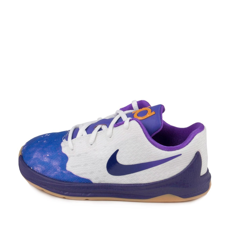 2f4b0f0dbdb6 Nike Baby Boys KD 8 QS TD PB J White Fuschia Flash Canvas Size 9C   Amazon.in  Shoes   Handbags