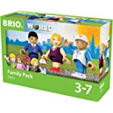 BRIO 33951 - Village Figurenset Familie, bunt