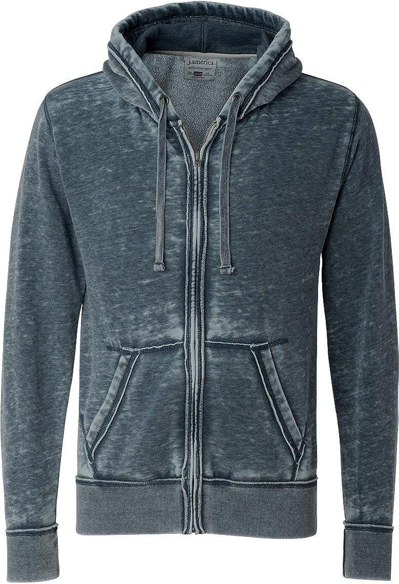 Adult Vintage Zen Full-Zip Fleece Hood VINTAGE NAVY 3XL