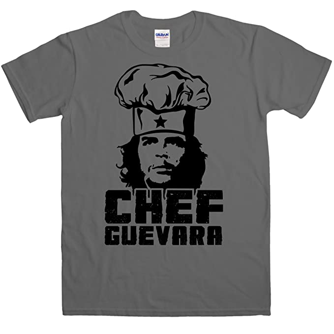 aa37686abb3 Amazon.com  Mens Chef Guevara T Shirt - 8Ball Originals Tees  Clothing