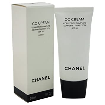 65c2ce7962 Amazon.com: Chanel Cc Cream Complete Correction SPF 50# 30 Beige ...