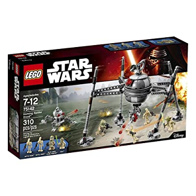 LEGO Star Wars Homing Spider Droid 75142: Toys & Games