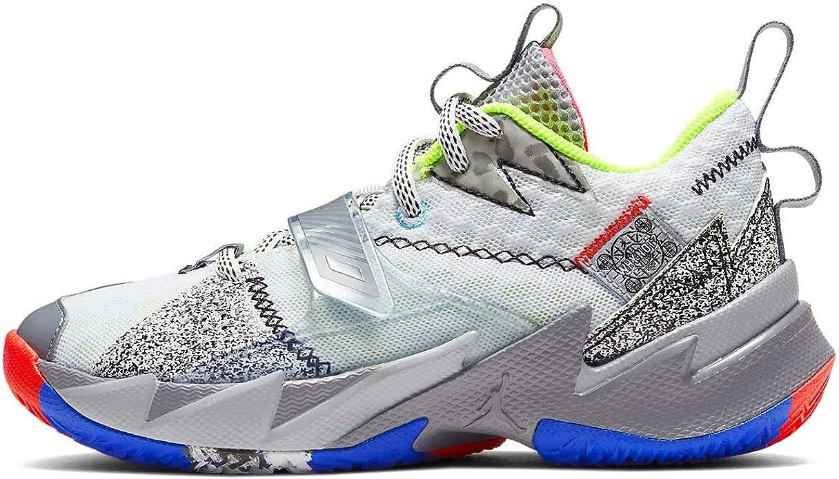 Interactuar lanzadera cinta  Amazon.com | Nike Jordan Why Not Zer0.3 (ps) Little Kids Cd5805-100 |  Basketball