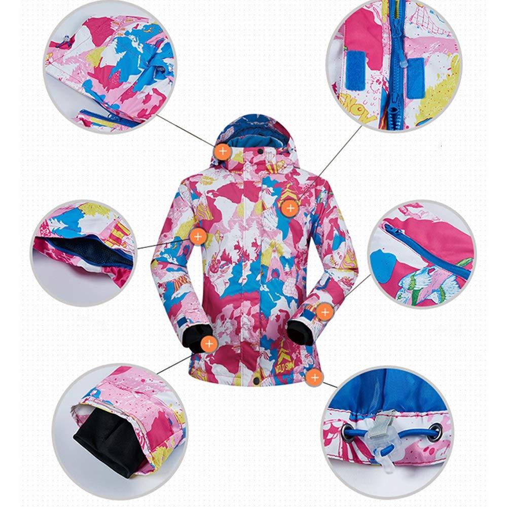 ChenYongPing Giacca da Sci Pantaloni da snowbags da da da Sci Coloreeati Stampati Antivento Impermeabili Antivento da Donna Abbigliamento da Sci Ideale (Coloreee   verde Pants, Dimensione   XXL)B07L3P9LX6X-Large Light blu Pants | Uscita  | I Materiali Superior bed1d0