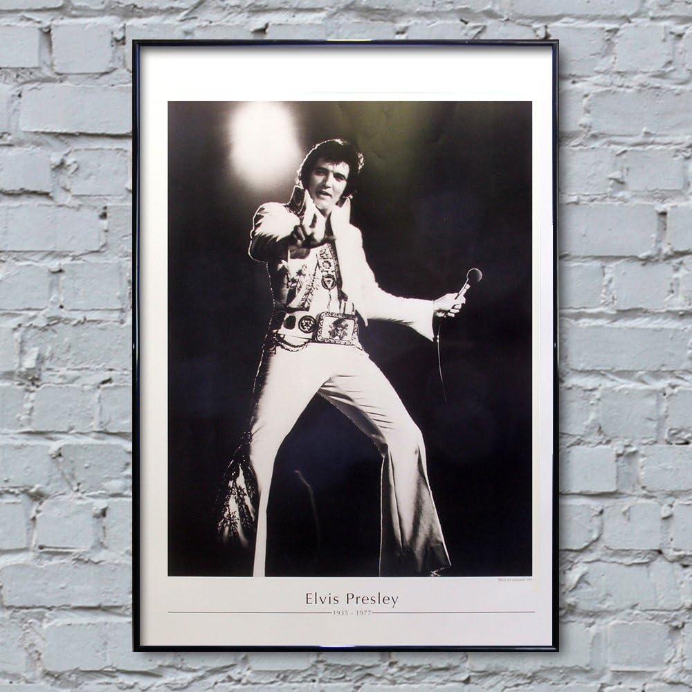 Elvis Presley Colourful wall art  A3