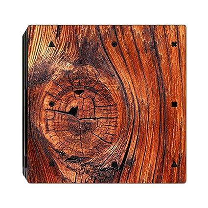 aa04070d92d51 Amazon.com: Tiean Compatible Ps4 Game Imitation Wood Sticker Slim ...