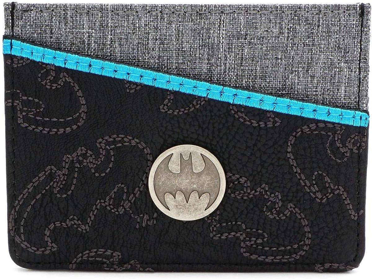 Loungefly x DC Comics Batman Embroidered Batwing Tech Wallet