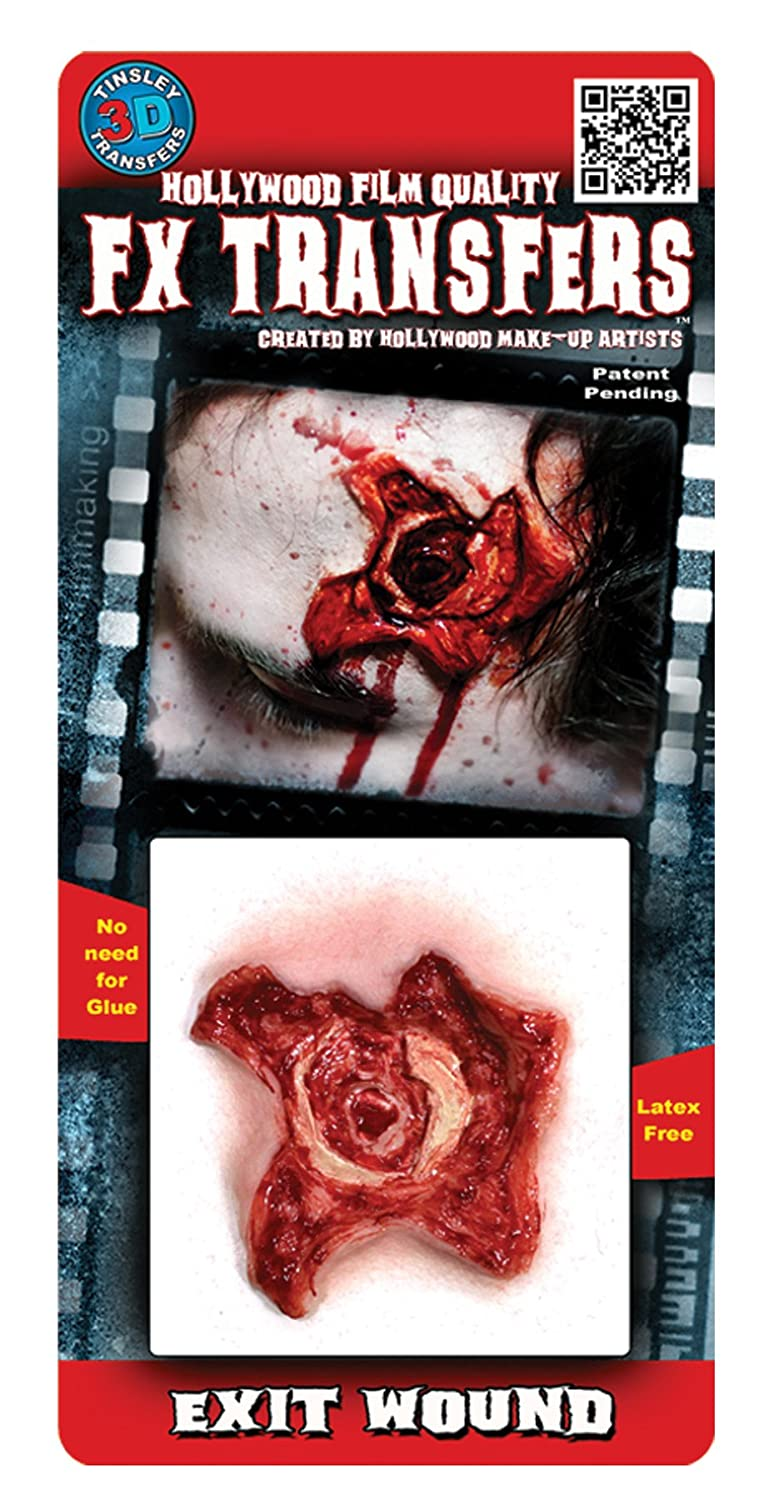 Exit Wound Costume 3D FX Transfers