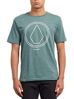 Volcom Pinline Stone HTH SS Camiseta, Hombre