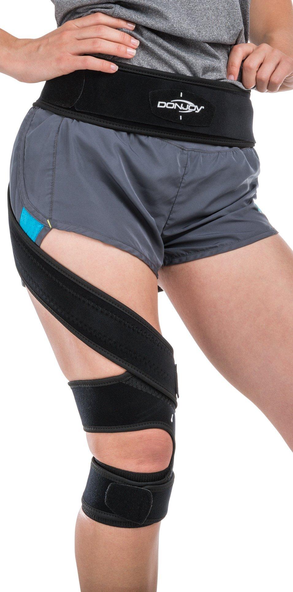 DonJoy S.E.R.F. Patellofemoral Brace Support Strap, Right Leg, Medium by DonJoy