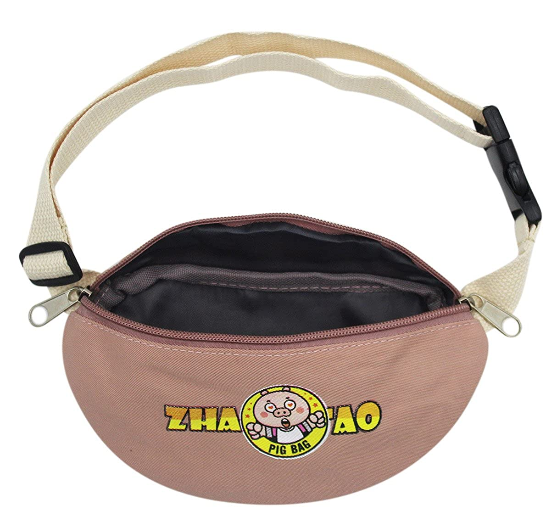 Kids Boys Girls Toddler Mini Fanny Pack Sports Purse Waist Pack Bum Bag