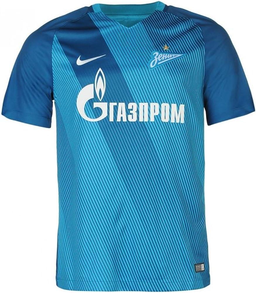Amazon Com Nike Mens Fc Zenit Stadium Jersey Laser Blue S Clothing