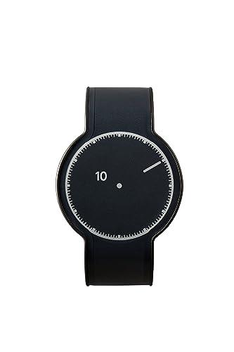 FES Watch - reloj con tinta electrónica de color negro: Amazon.es: Relojes