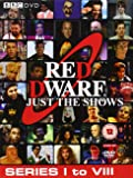 Red Dwarf - Just The Shows - Series 1 - 8 [10 DVDs] [UK Import]