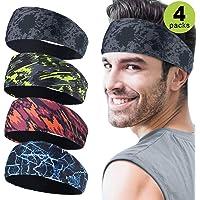 Bandas para la cabeza deportivas para hombre, 4