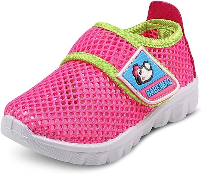 DADAWEN Babys Boys Girls Water Shoes Lightweight Breathable Mesh Running Sneakers Sandals