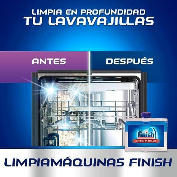 Finish Limipiamáquinas líquido para lavavajillas - 4 unidades ...