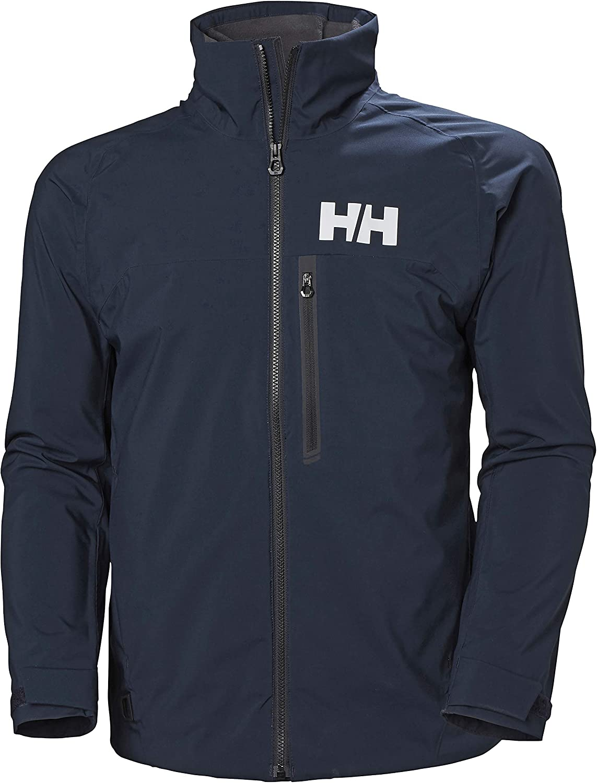 Helly Hansen HP Racing Midlayer Lifaloft Cuello Forro Polar Marina Deportes Navegación Chaqueta Impermeable, Hombre