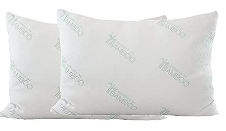ultimate essence of bamboo pillow poly fiber with premium bamboo derived rayon poly cover