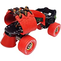 Jaspo Pro-Tenacity Adjustable Senior Roller Skates Suitable for Age Group 8 Years and Above