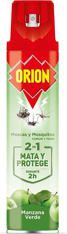 Orion Insecticida Para Insectos Voladores Con Fragancia a Manzana Verde- 600 ml
