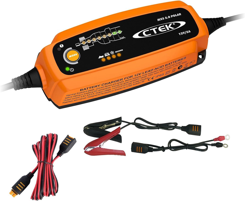 Ctek Mxs 5 Polar BatterieladegerÄt VerlÄngerungskabel 2 5m 31799932 Auto