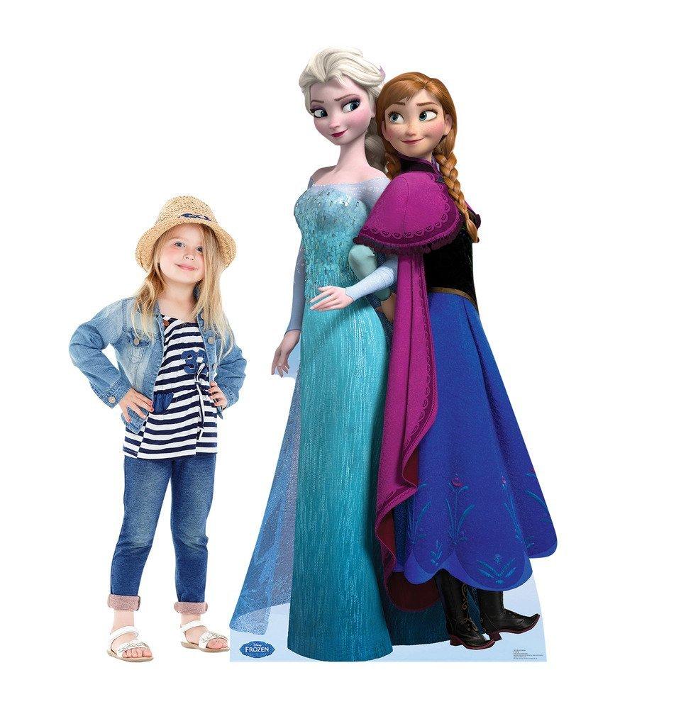 5bf594c4c706c Elsa and Anna - Disney s Frozen - Advanced Graphics Life Size Cardboard  Standup  Amazon.ca  Home   Kitchen