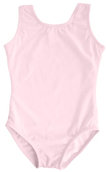 0ddfea5c8067 Amazon.com  Dancina Leotard Tank Top Ballet Gymnastics Front Lined ...