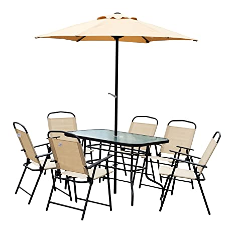 Outsunny Conjunto de Muebles para Jardín Terraza o Patio de ...