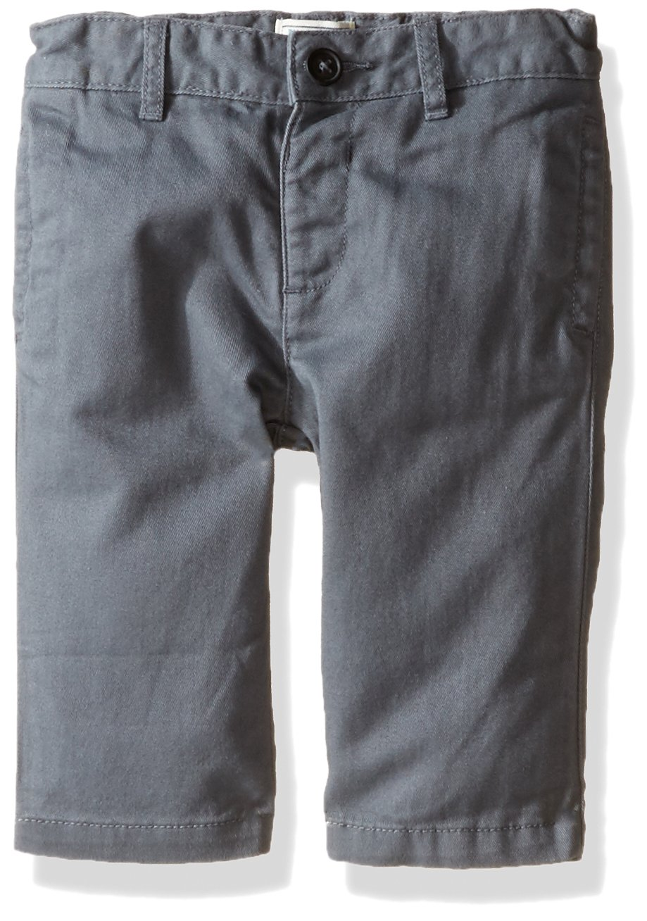 The Children's Place Baby Boys' Chino Pants, Storm 7643, 12-18 Months