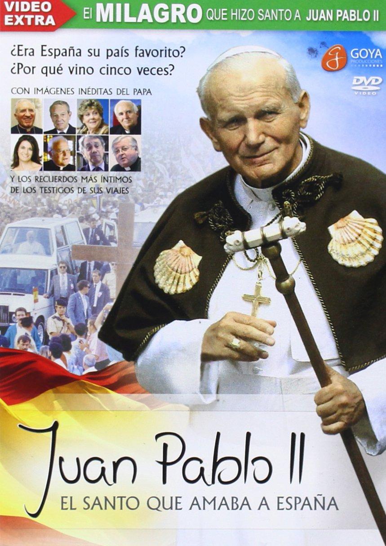 Juan Pablo II. El Santo Que Amaba A España [DVD]: Amazon.es: Andres Garrigo, Goya Producciones: Cine y Series TV